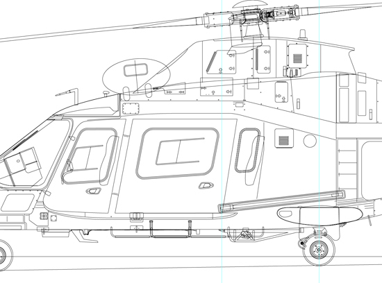 Linework for Aircraft Profiles