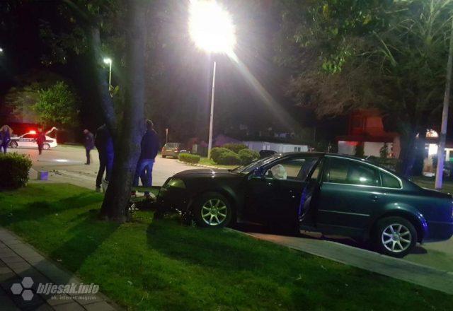 Teška prometna u Čapljini: Frontalno se sudarili Passat i Citroen C3 1