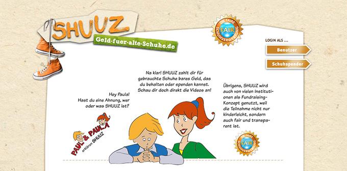 shuuz_website