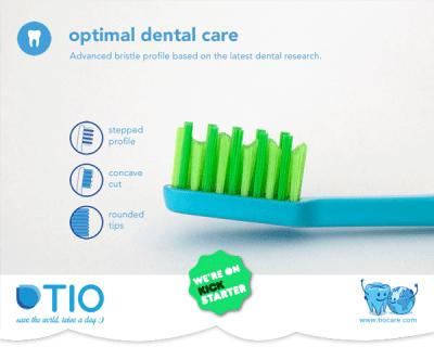 Zweimal täglich Zähneputzen und die Welt retten – die Zahnbürste neu erfunden
