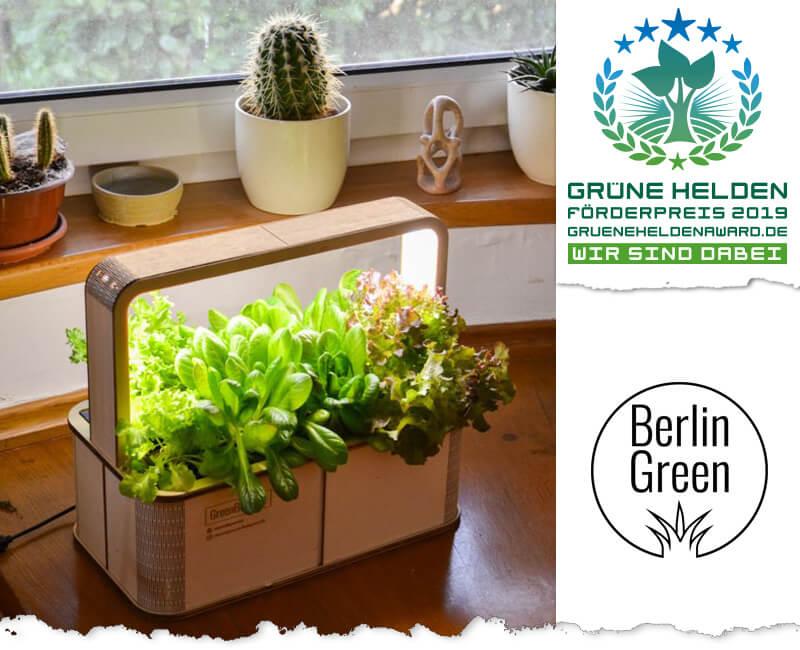 Indoor Gardening auf kleinem Raum