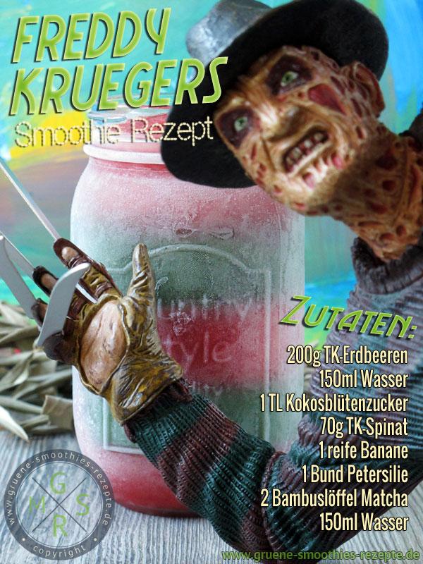 Freddy Krruegers Lieblings Smoothie Rezept - Happy Halloween