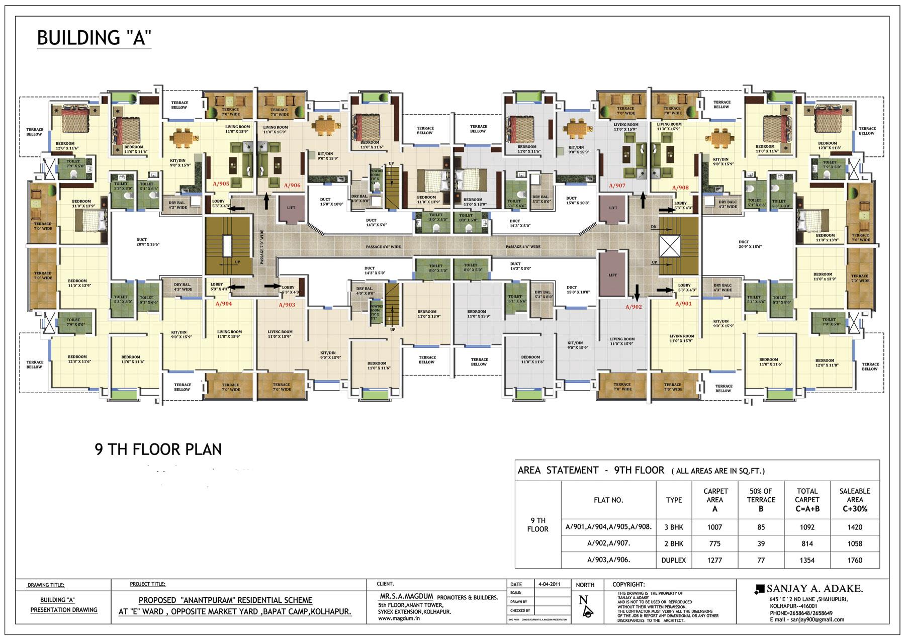 Building Floor Plan Layout