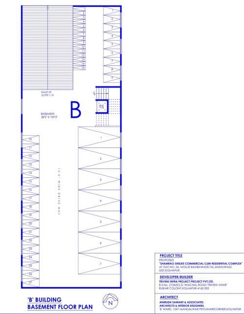 small resolution of b building basement floor plan