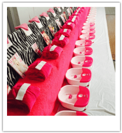 Kids spa parties are great fun, we recommend spa parties for childrens birthday parties, they are also great fun for teen pamper parties in London.