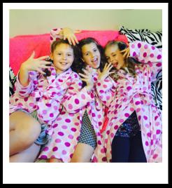 girls sleepover spa parties, slumber parties, pijama spa parties for girls in London