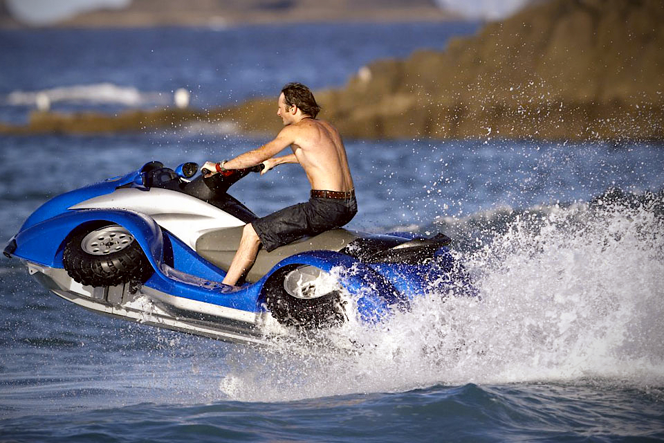 Gibbs Quadski Amphibious Machine Grumpyfoot