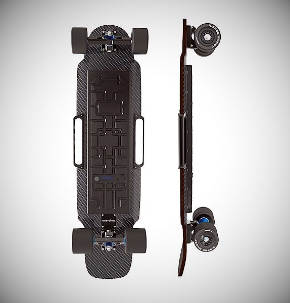 Enertion Raptor 2 Rides Faster and Longer than Boosted Boards