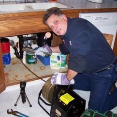 Unclog Kitchen Drain Black Island Cart Clogged Cleaning Grumpys Drains Line
