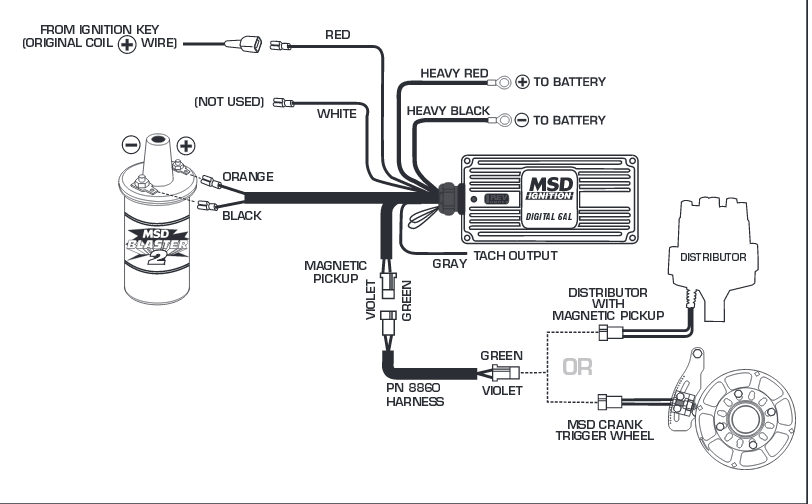 Msd 6421 Wiring Diagram MSD Wiring Jeep • 138dhw.co