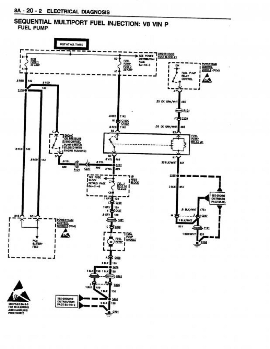hight resolution of handy fuel system trouble shooting flow chart info grumpys img wiring diagram oil pressure 1992 lumina