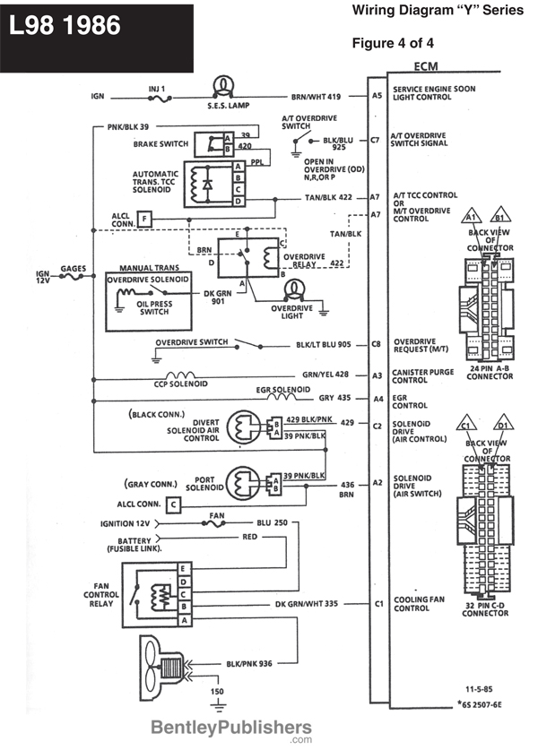 1986 Corvette Wiring Schematic : 30 Wiring Diagram Images