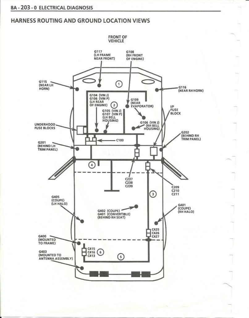 corvette c4 door wiring diagram data diagrams
