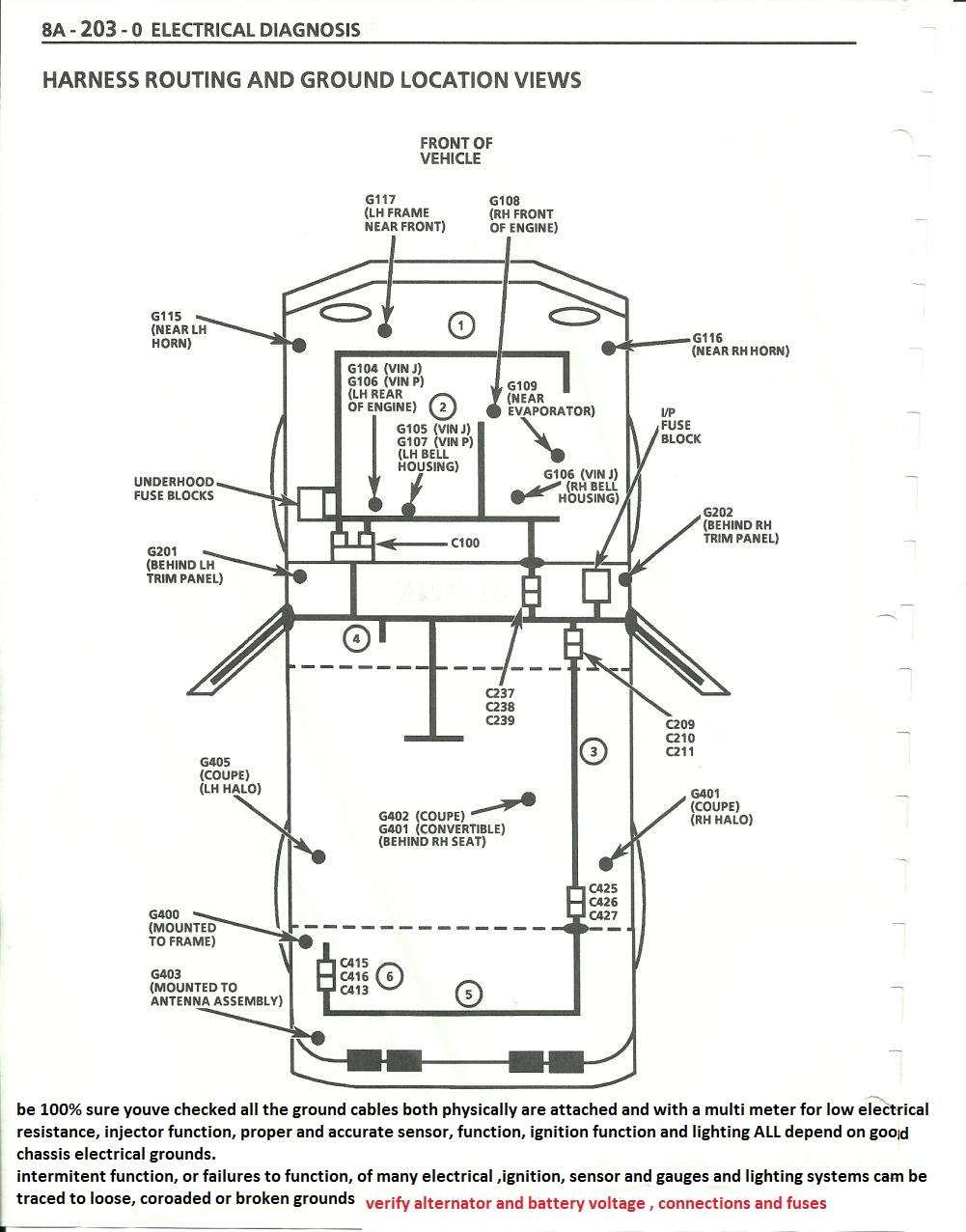 hight resolution of cooling off that c4 corvette grumpys performance garage img 1996 corvette engine compartment diagram