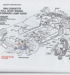 mounting an effective trans cooler on a c4 corvette 1997 chevy lumina wiring diagram 1998 chevy [ 1461 x 1057 Pixel ]