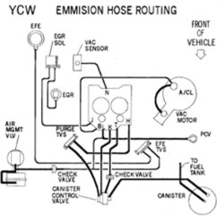 Triumph Tr6 Dash Wiring Diagram Xlr Microphone Cable C3 & C4 Corvette Vacuum Diagrams | Grumpys Performance Garage