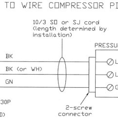 110 Volt Outlet Wiring Diagram 2007 International 4300 Idm A Typical 220volt 30 Amp Air Compressor | Grumpys Performance Garage