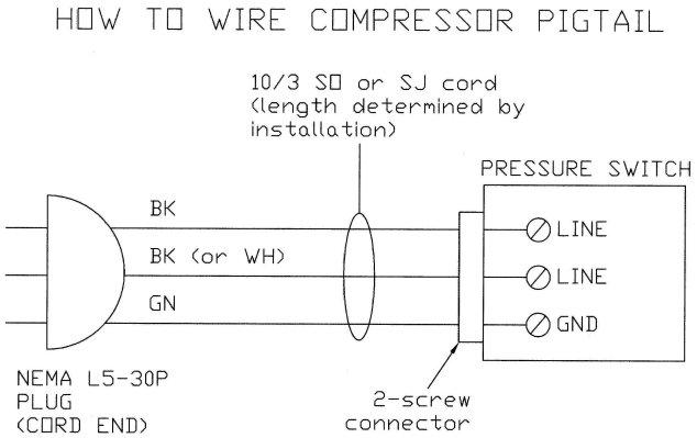 220 volt compressor wiring diagram  wire center •