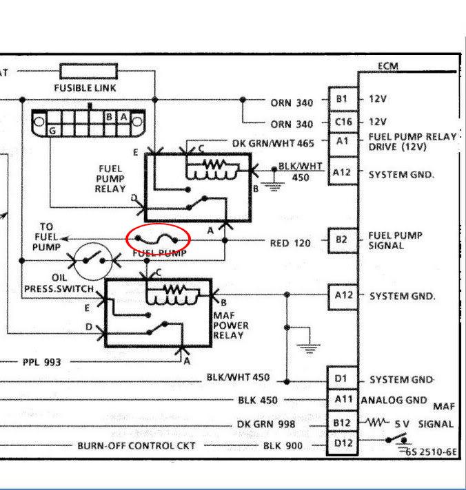 1966 corvette radio wiring diagram for light bar rocker switch replacing a c 4 fuel pump grumpys performance garage img