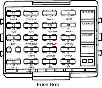 1990 Cadillac Deville Fuse Panel Diagram 85 C4 No Injector Pulse Please Help Corvette Forum