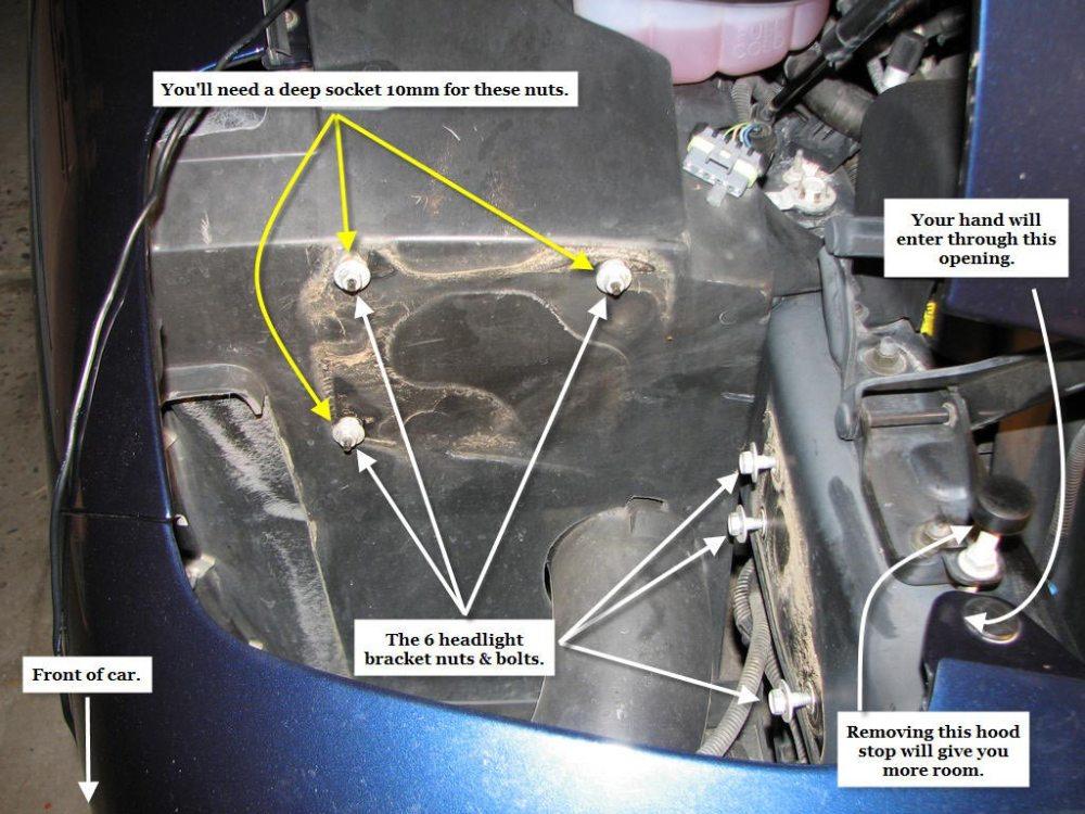 medium resolution of c5 head light repair info grumpys performance garage rh garage grumpysperformance com