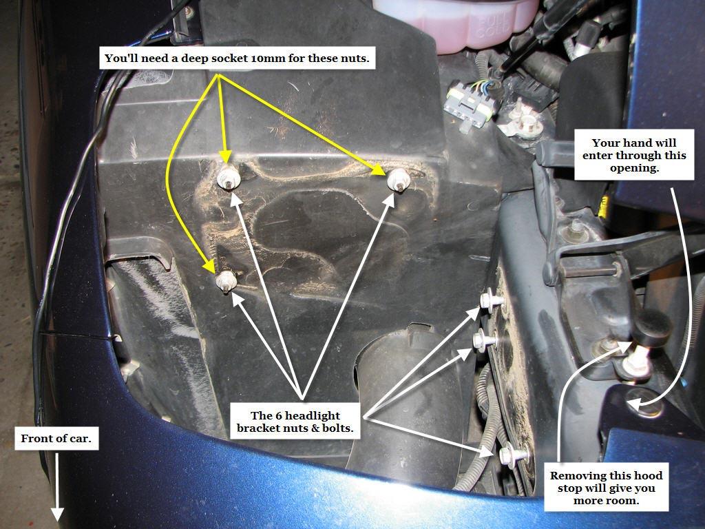 hight resolution of c5 head light repair info grumpys performance garage rh garage grumpysperformance com
