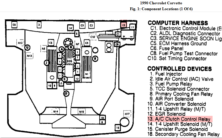 Lt1 Engine Wiring Diagram Ecm 1984 Chevy Lt1 Engine