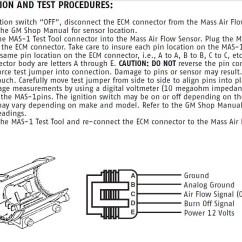 Mass Air Flow Sensor Wiring Diagram 110cc Atv Taotao Maf Burn Off Relay Info Grumpys Performance Garage