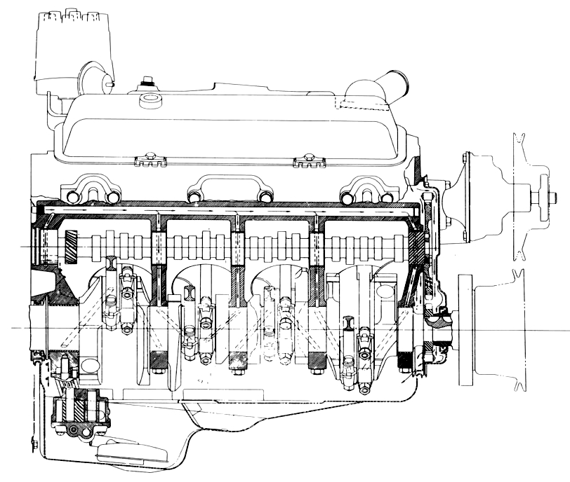 Oil Diagram On Chevy L33, Oil, Free Engine Image For User