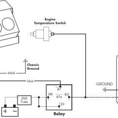 Automotive Electric Fan Relay Wiring Diagram Honda Marine Fuel Gauge Cooling Off That C4 Corvette Grumpys Performance Garage Img