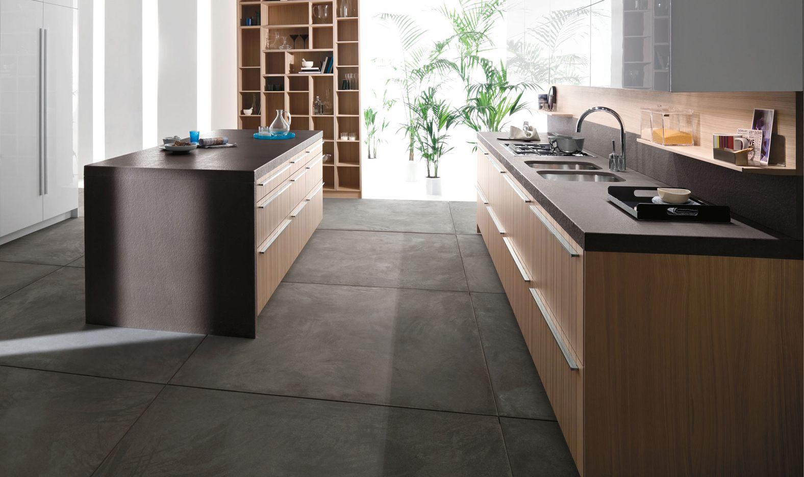 dark floor kitchens gallery kitchen