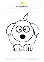 Malvorlage hundekopf Coloring and Malvorlagan