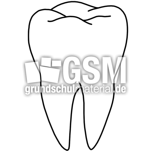 Zahn - T-Z - Nomengrafiken zum Ausmalen - Material Klasse