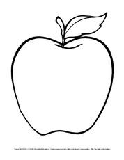 Arbeitsblatt in der Grundschule - Der Apfel - HuS Klasse 2