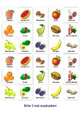 BG Gem Steine Gemse Bingo Fr 4 6 Obst Gemse