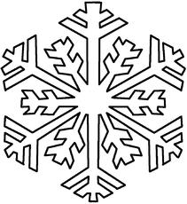 Schneestern Malvorlage
