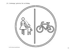 33 Ausmalbilder Verkehrszeichen Fahrrad - Besten Bilder