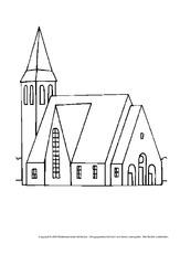 Ausmalbild in der Grundschule - Ausmalblätter-Mittelalter