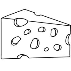 Maus Mit Käse Malvorlage