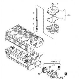 MOTOR HATZ 2L41C 3L41C 4L41C