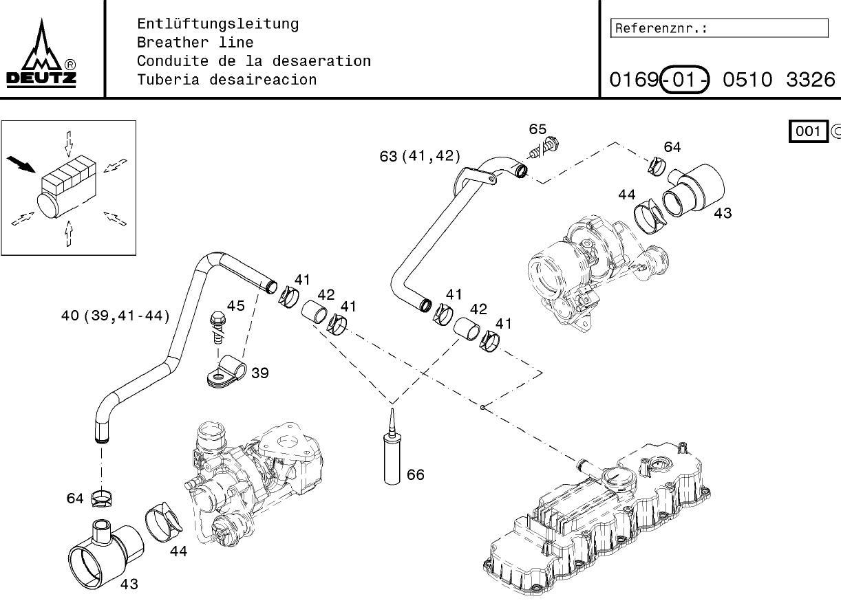 Bloque de motor Deutz TCD3.6