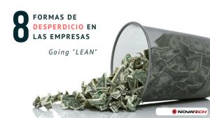 8 Formas de desperdicio en las empresas