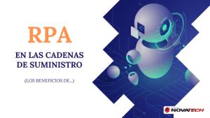 Beneficios RPA en el supply chain