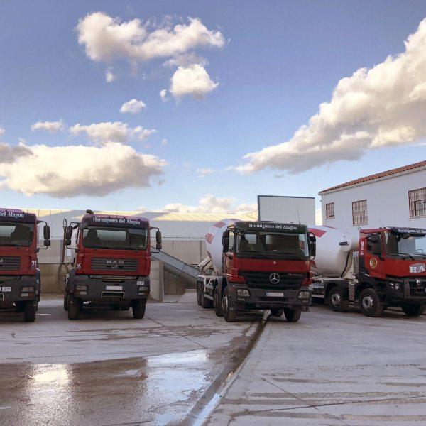 Flota Camiones de hormigón en Cáceres