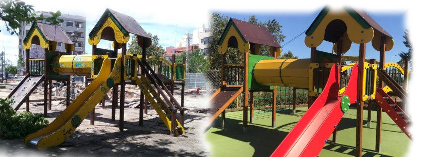 Restauración Parques Infantiles