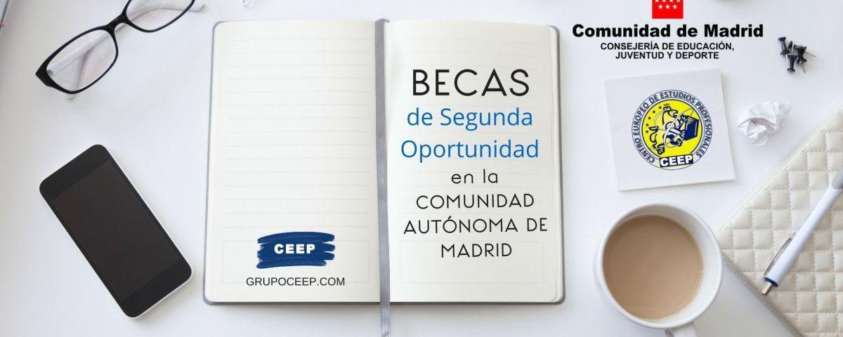 La CAM publica las bases reguladoras de la Beca de Segunda Oportunidad