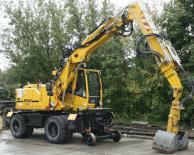 ATLAS 1404 ZW Peso de 20000 Kg Potencia 130 CV Profundidad de excavación 4,3 m