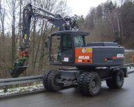 ATLAS 180 WSR Peso de 21000 Kg Potencia 109 CV Profundidad de excavación 5,51 m
