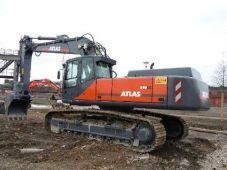 ATLAS 340 LC Peso de 26600 Kg Potencia 170 CV Profundidad de excavación 7,69 m