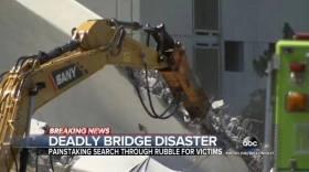SANY DESASTRE PUENTE FLORIDA